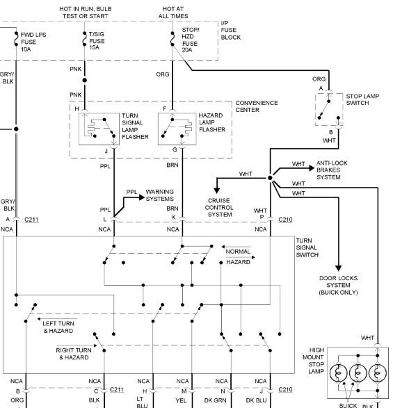 1992 Chevy Caprice Turn Signal Wiring Diagram Wiring Schematic Diagram