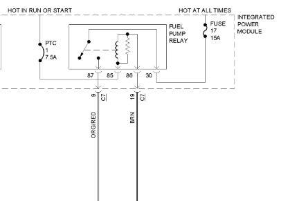 Ford Taurus Fuel Pump Wire Schematic Wiring Diagram