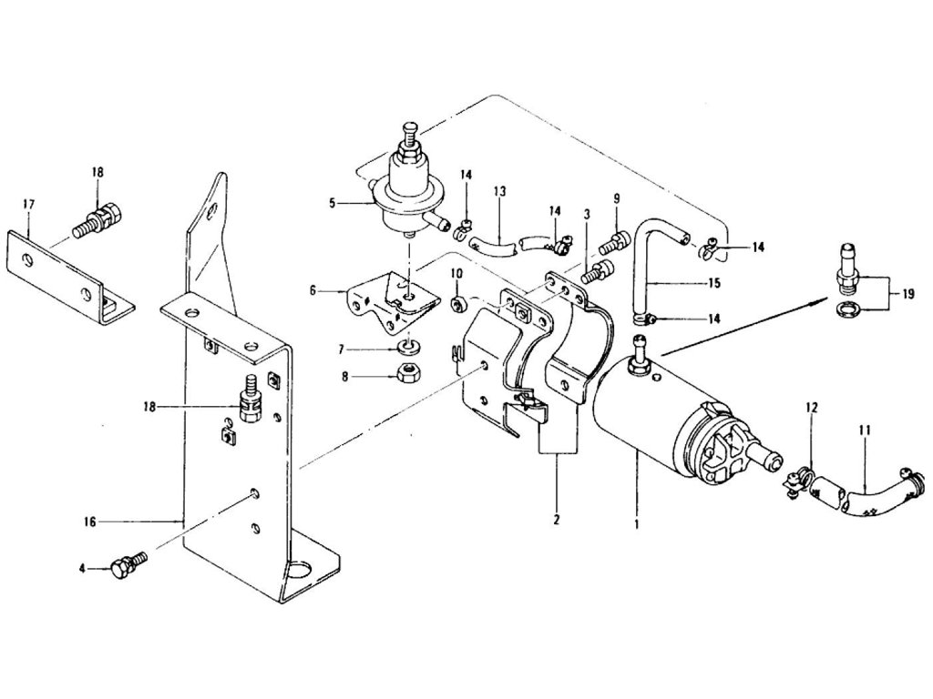 1978 280z fuel pump