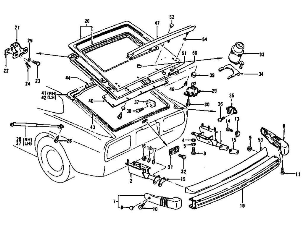 1975 Datsun 280z Wiring Diagram