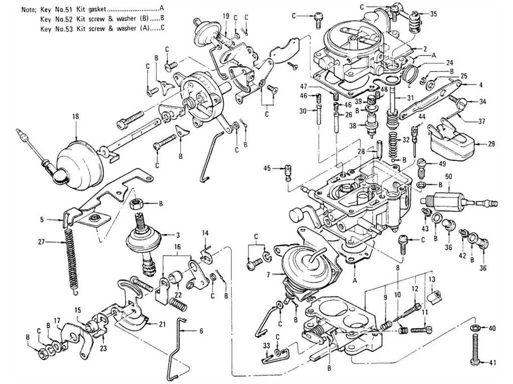 datsun 1200 engine diagram