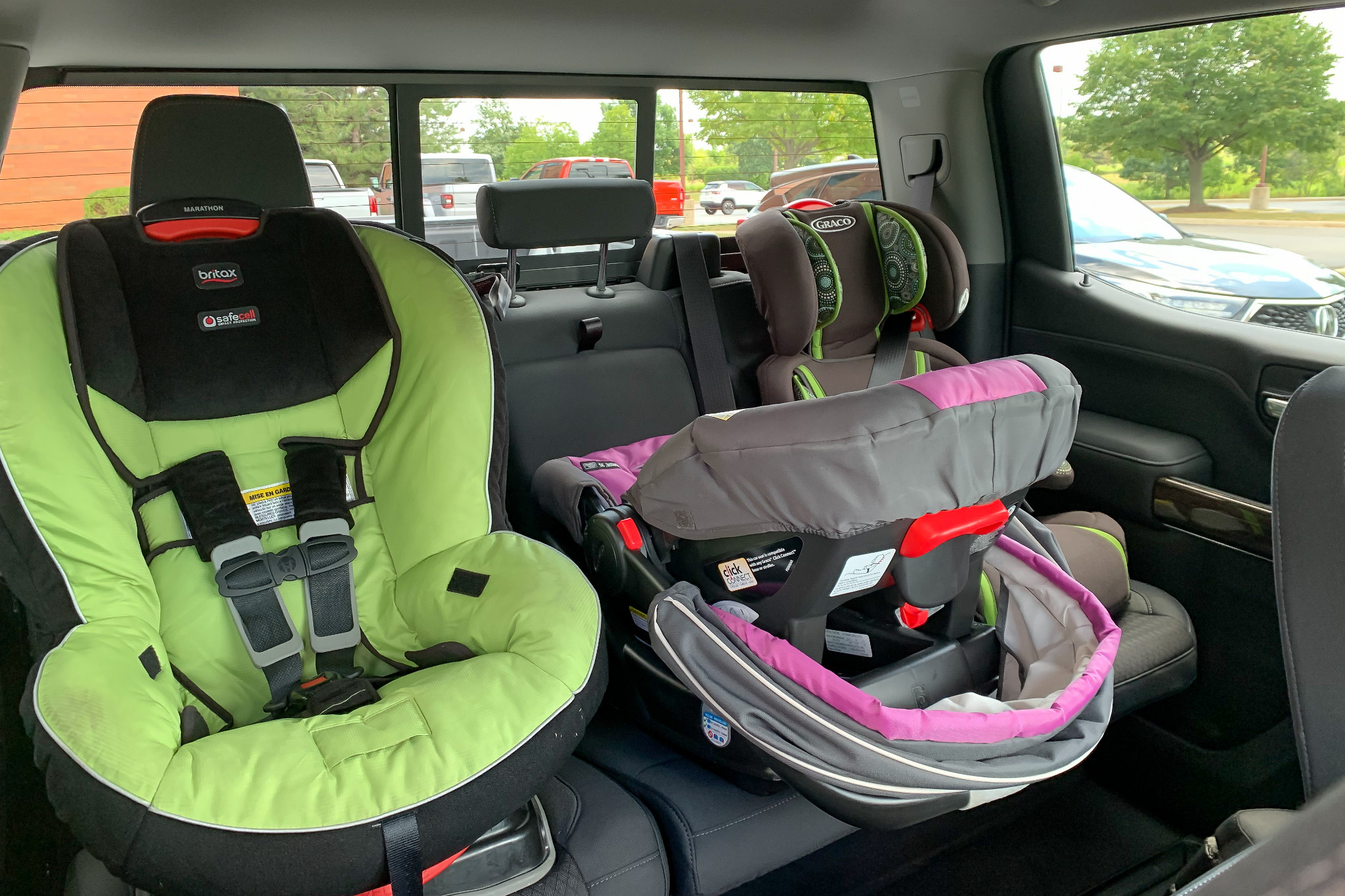 Baby Car Seat Fitting Service Which Cars Fit Three Car Seats News Cars