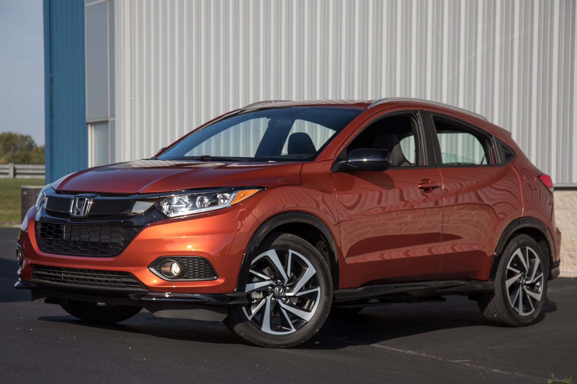Honda Hrv Avis 2019 Honda Hr V Sport Quick Spin Sportiness Eludes It News