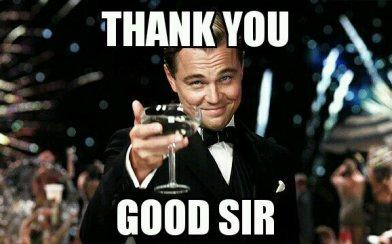 """Résultat de recherche d'images pour """"thank you sir meme"""""""