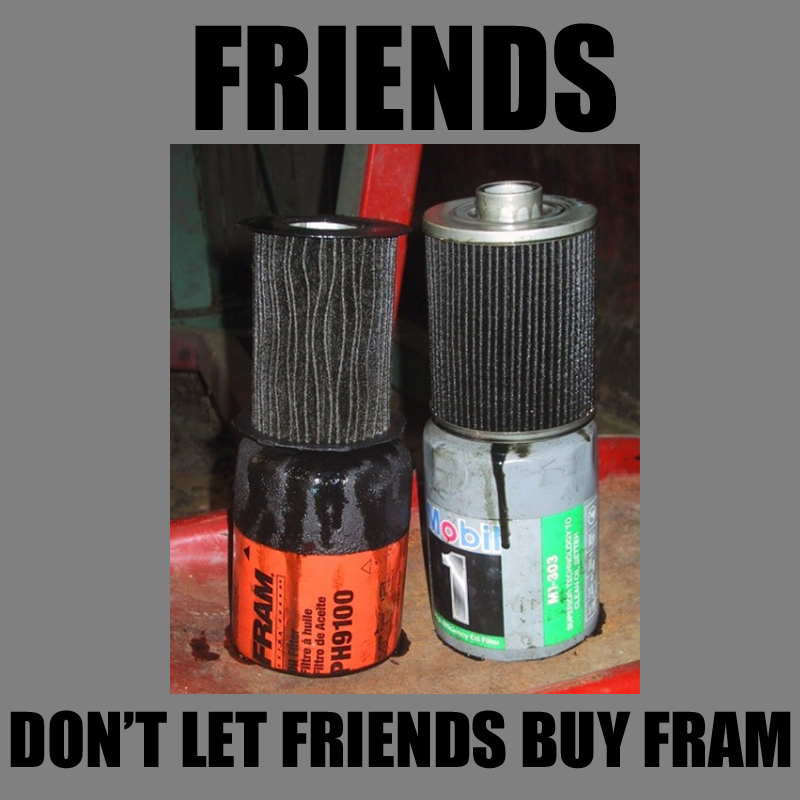 Polaris oil filter cross reference - Polaris ATV Forum