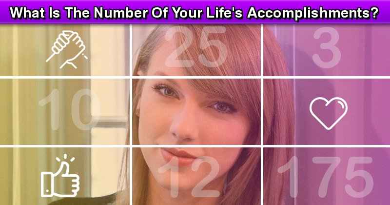 What Is The Number Of Your Life\u0027s Accomplishments?