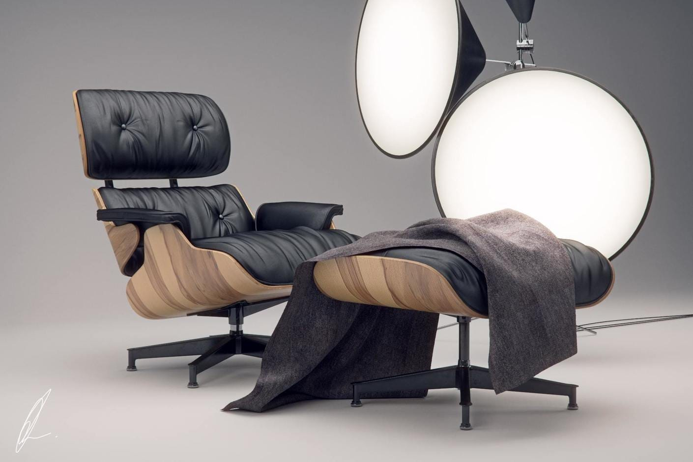 Eames Lounge Sessel Eames Lounge Chair Jonathan Evans Chaos Group