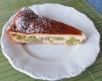 Rhabarberkuchen mit Saure Sahne - Guss von trollinger ...
