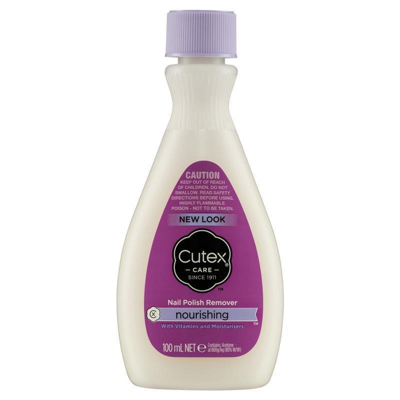 Buy Cutex Nail Polish Remover Nourishing 100ml Online At