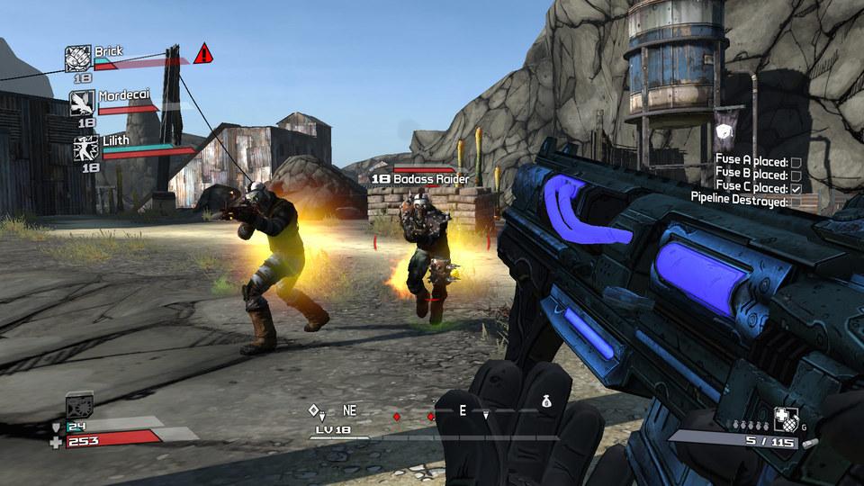 Jogo Borderlands para Xbox 360 - Seminovo - Taverna GameShop