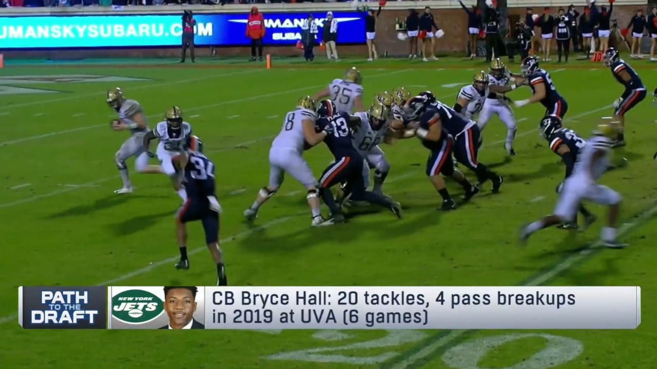 Nfl Network Names Bryce Hall As 1 Of 2 Rookie Cbs To Keep An Eye On In 2020