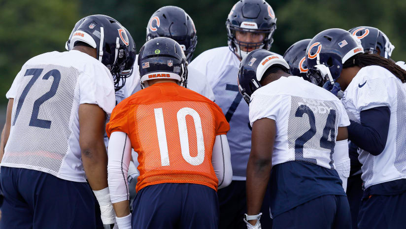 Bears release first unofficial depth chart of 2018