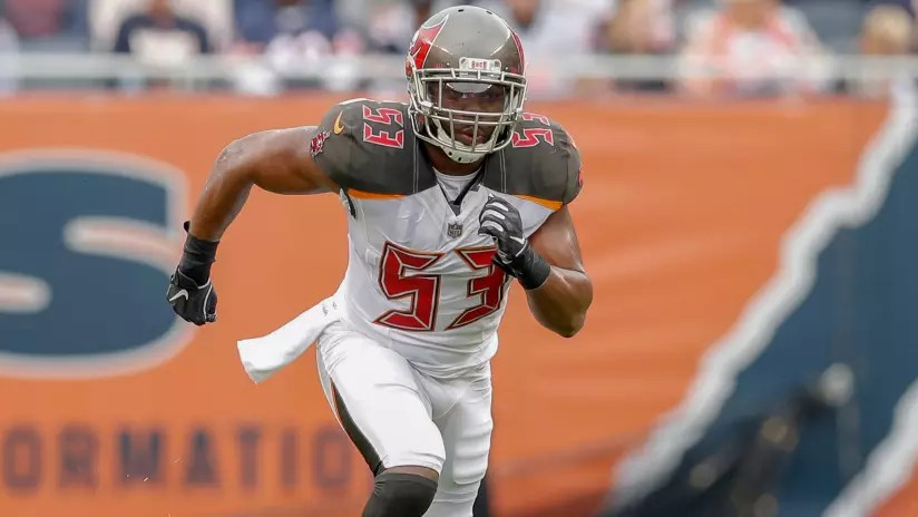 Bucs Revise Linebacker Depth Chart