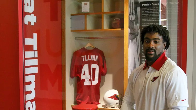 Airius Moore Finds Inspiration From Pat Tillman