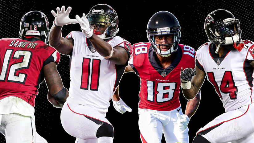 Falcons 2018 roster outlook 5 things to know about the wide receivers