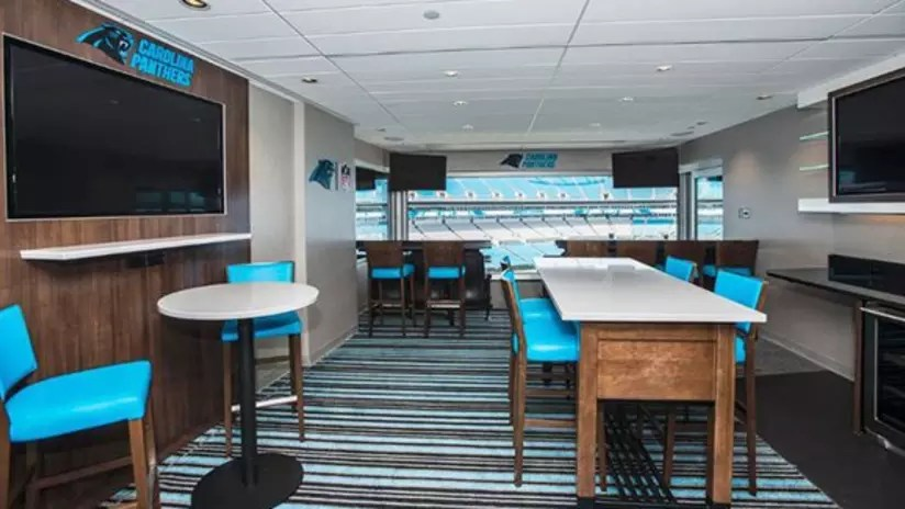 Luxury Suites Carolina Panthers - Panthers