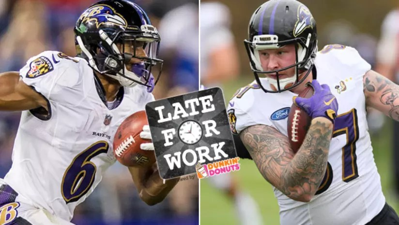 Late for Work 5/8 Early Look at Ravens Offensive Depth Chart and