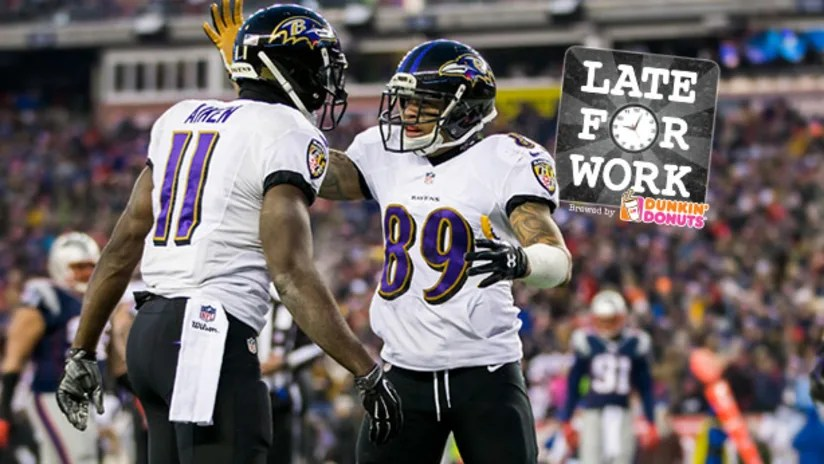 Late For Work 5/9 Early Look At Ravens Wide Receiver Depth Chart