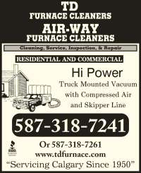 T D Furnace Cleaners - Calgary, AB - 215 Penbrooke Way SE ...