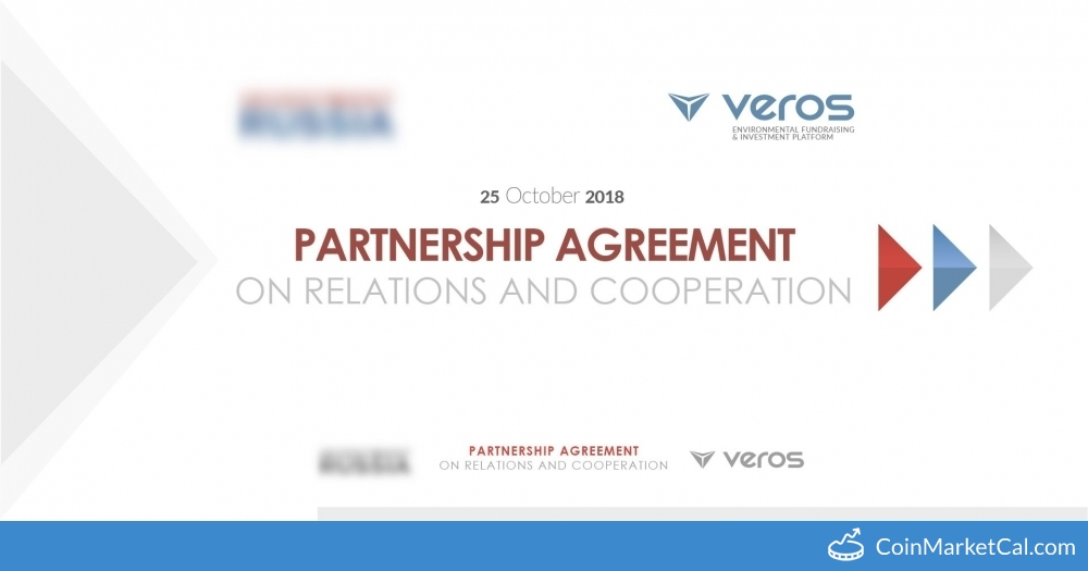 Partnership Agreement Veros Event Coinpaprika