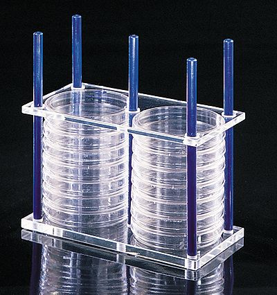 Thermo Scientific Nalgene Petri Dish Rack 24 Dish Capacity