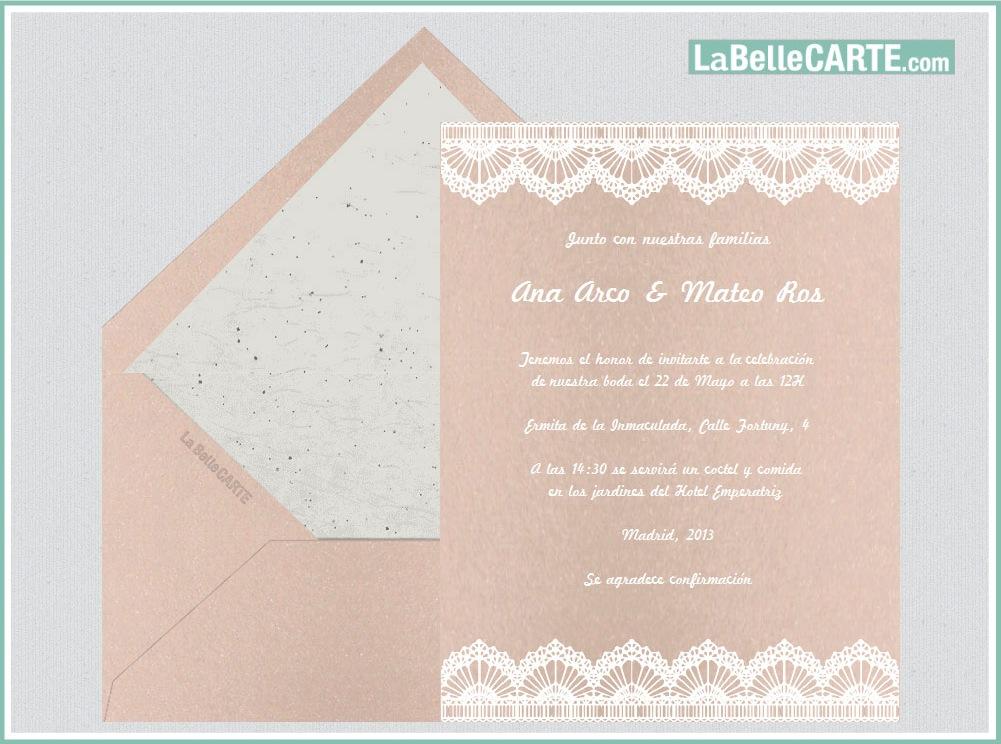 Originales tarjetas e invitaciones virtuales en tono pastel, una de - invitaciones de boda gratis
