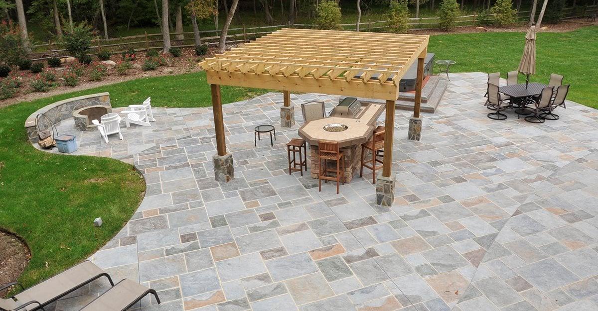 Concrete Patio Patio Ideas Backyard Designs And Photos