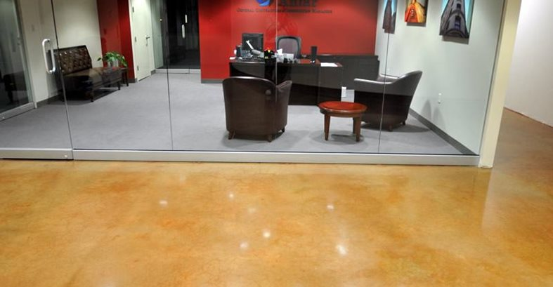Concrete Office Flooring The Concrete Network