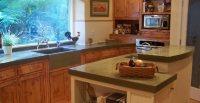 Kitchen Concrete Countertops - The Concrete Network
