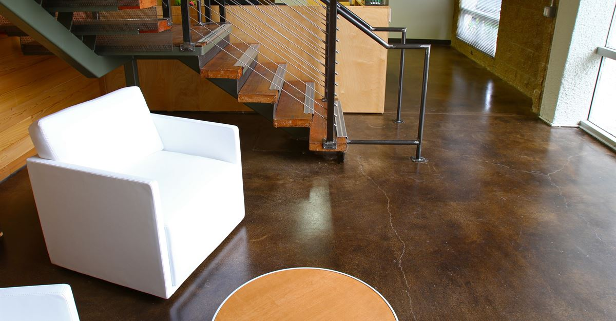 Stained Concrete - Acid Stain Concrete - The Concrete Network