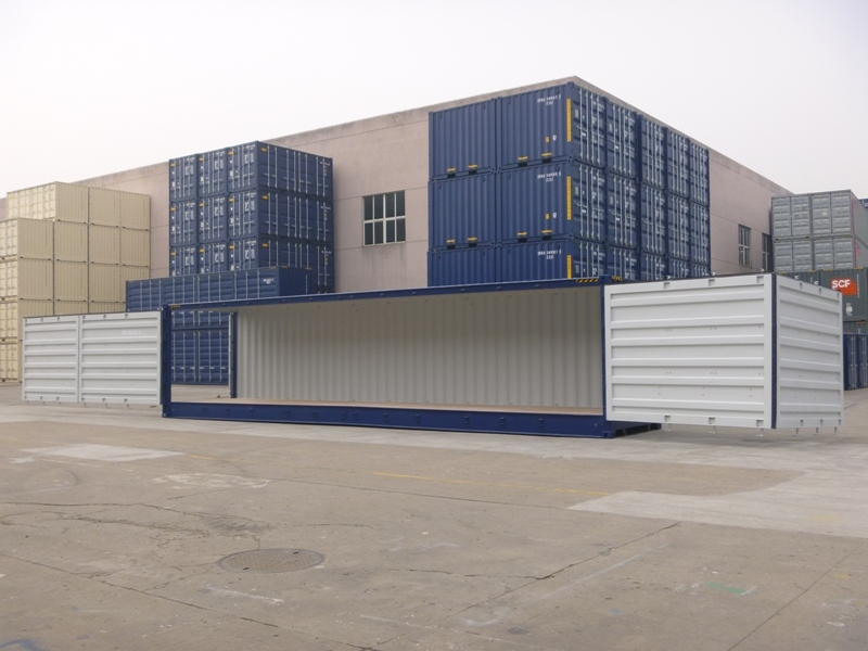 Full Side Access Side Opening Shipping Containers