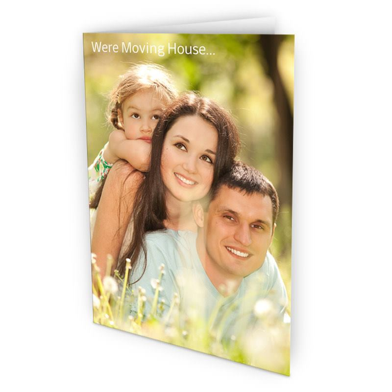 Photo Upload Cards Make Your Own Photo Cards Packs Fast - Bags Of Love - make your own thank you cards