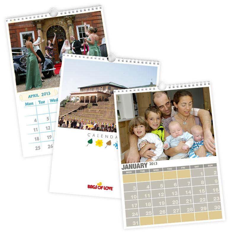 Personalised Calendars 2018 Photo Calendars Diaries Personalised Photo Calendars 2018 A3 And A4 Buy 2 Get 1 Free