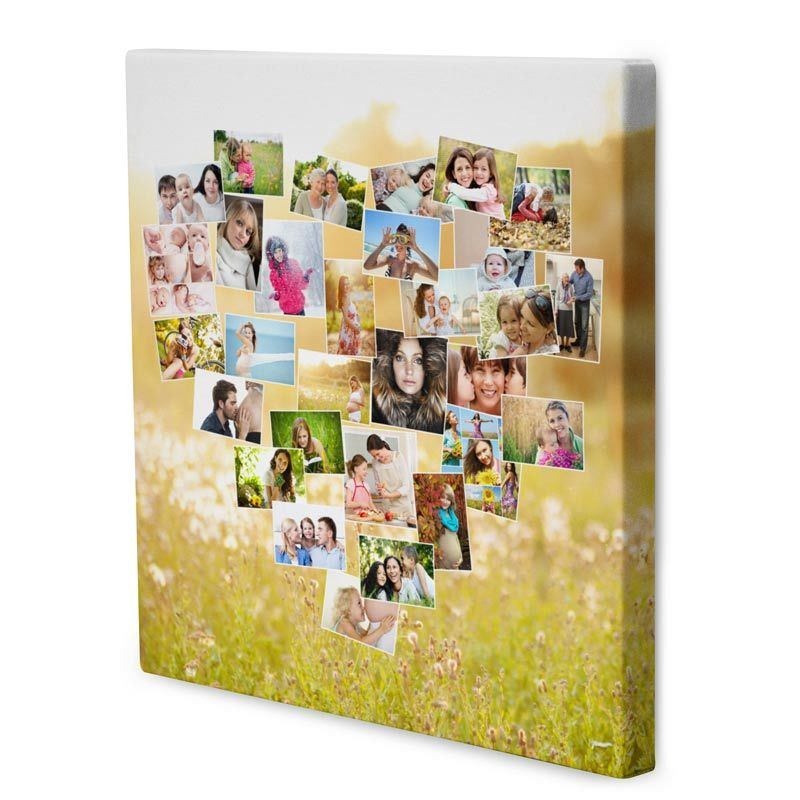Online Fotocollage Photo Collage Canvas. Photo Montage. Create Collage Canvas