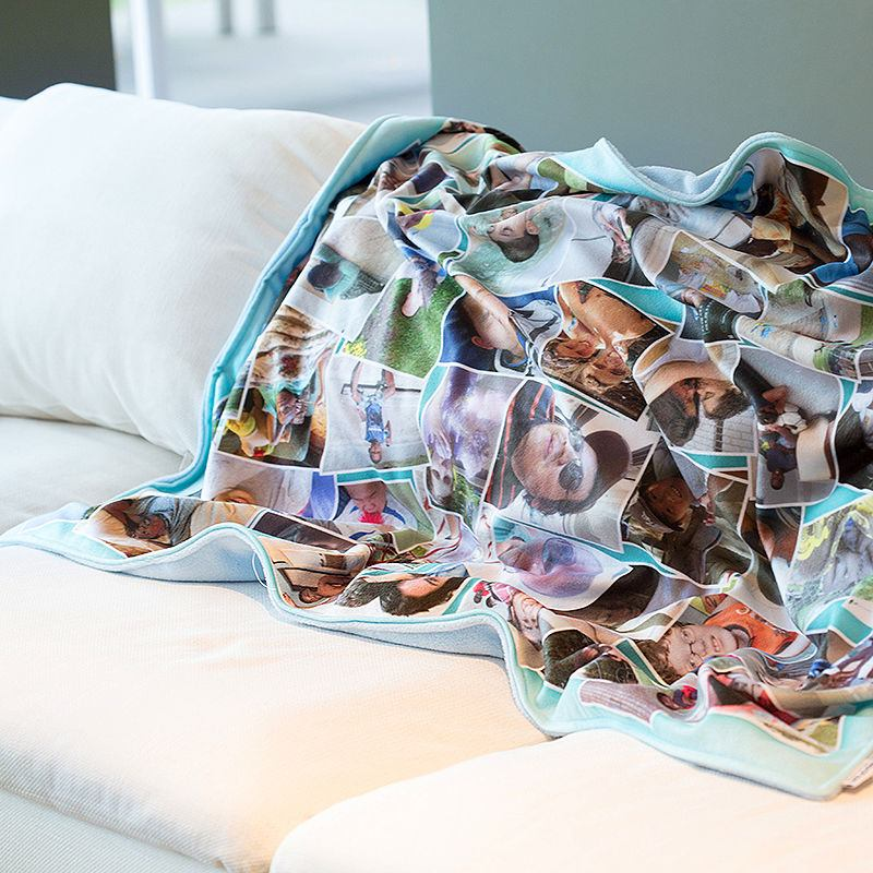 Fotocollage Online Gestalten Photo Blankets Uk. Personalised Blankets With Photo Collage