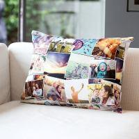 Personalised Throw Pillow UK: Velvet Custom Throw Pillows