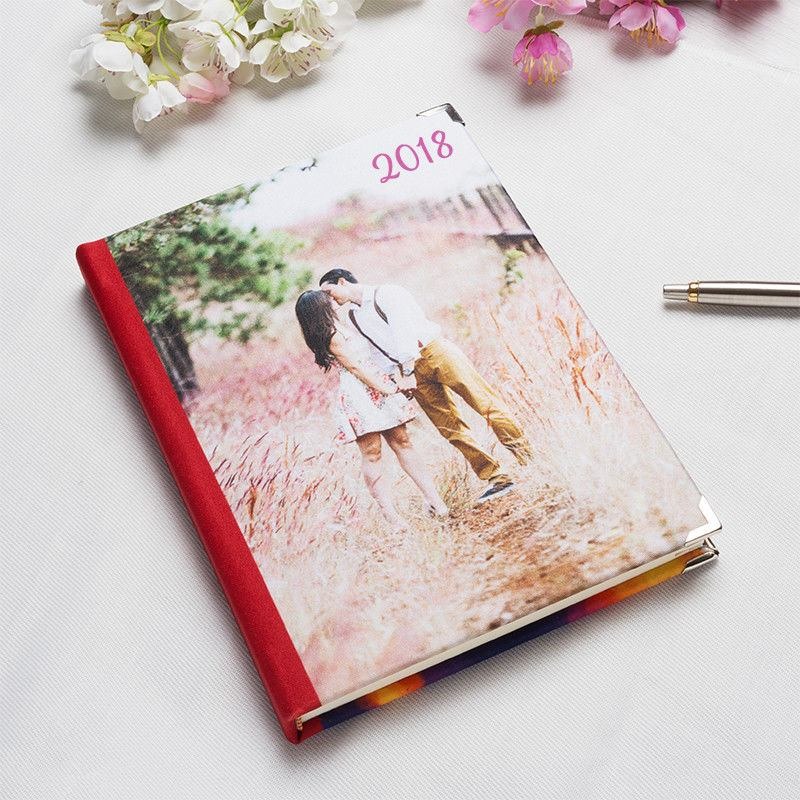 Personalised Diary Design Your Own 2018 Photo Diaries - diary design