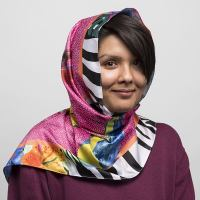 Printed Hijabs. Design Your Own custom headscarf