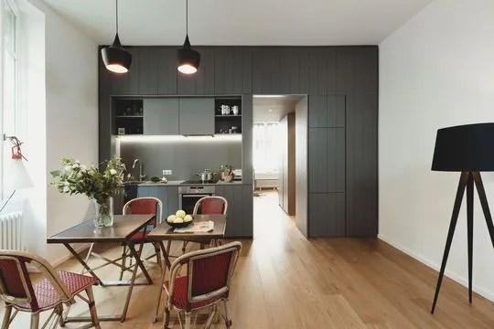 Rénovation du0027un appartement parisien par des architectes Paris