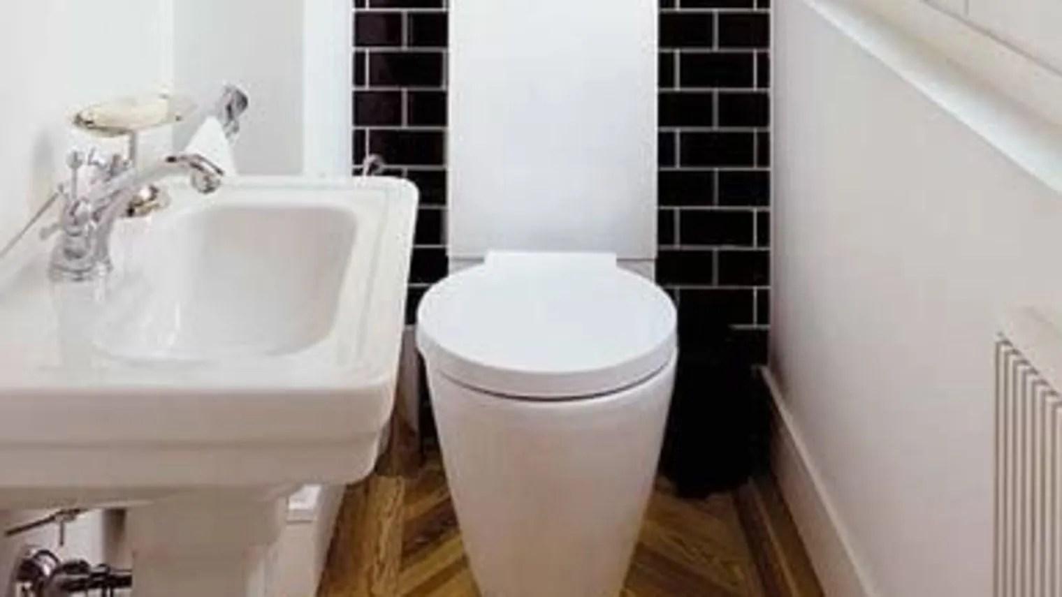 Idee wc deco les wc aussi ont droit à la déco leroy merlin