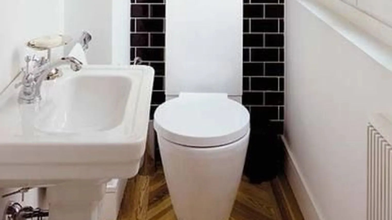 Pinterest deco wc toilette carrelage imitation bois wc pinterest