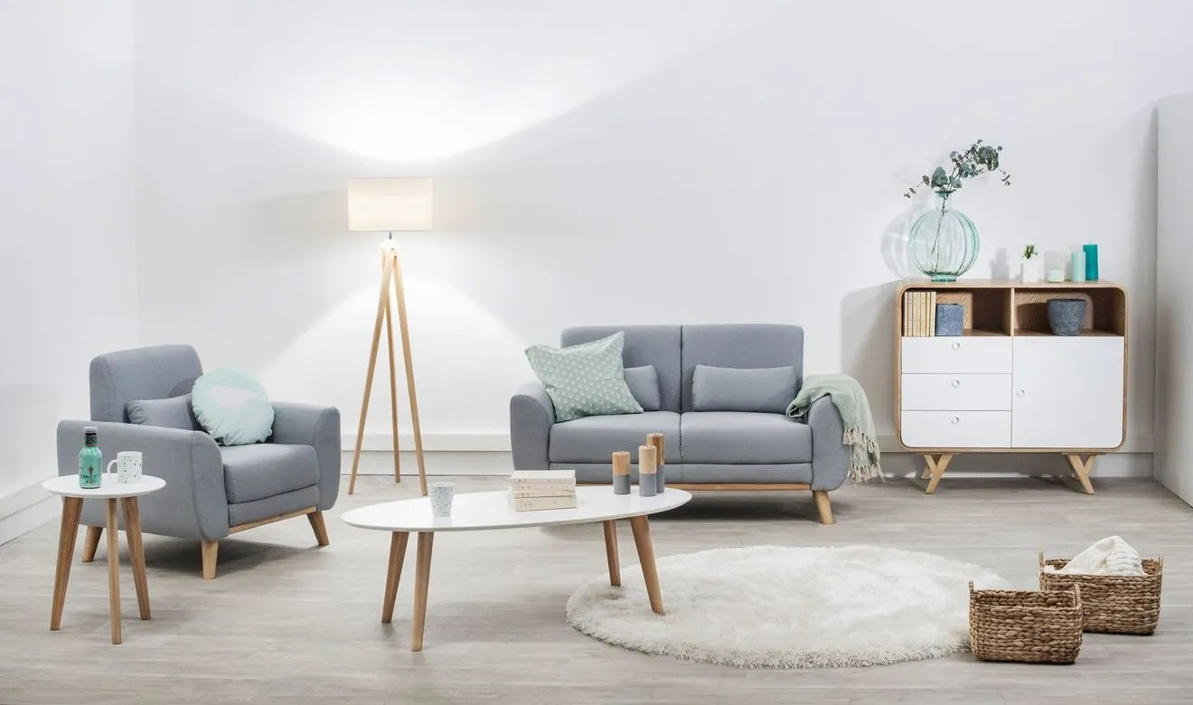 Salon Nordique Deco Salon Scandinave Jaune