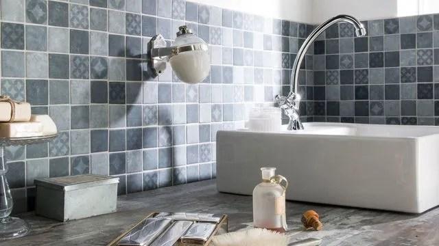 Carrelage salle de bain  nos modèles préférés - Côté Maison