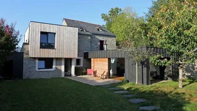 Extension bois  quel prix pour agrandir sa maison ? - Côté Maison - Cout Annexe Construction Maison
