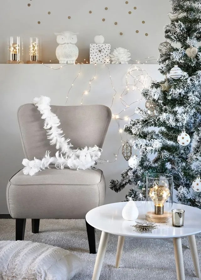 Decoration Centre De Table Basse Decoration Sapin De Noel Chic