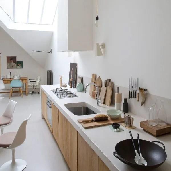 Cuisine moderne et pratique  20 bonnes idées - Côté Maison