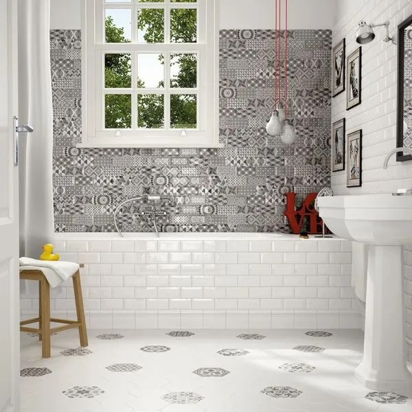 20 revêtements qu\u0027on aime pour la salle de bains - Côté Maison