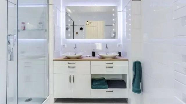 Salle de bain design  aménagement et équipements sanitaires - Côté