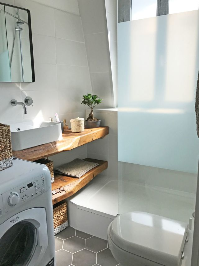 Rénovation petite salle de bains de 3 m2 - Côté Maison