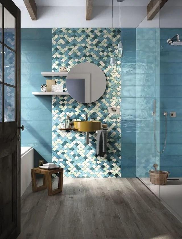 Mosaïque salle de bain  laquelle choisir - Côté Maison
